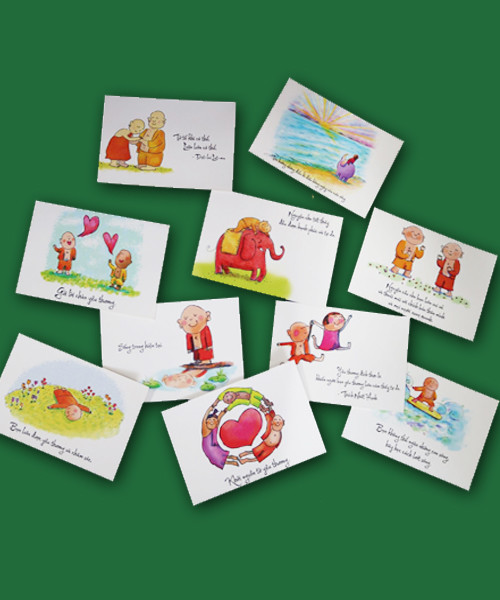 Bộ Postcard Phật