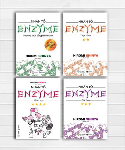 Bộ sách Nhân tố Enzyme