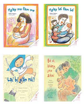 Bộ sách: Ngày mẹ làm mẹ – Ngày bố làm bố