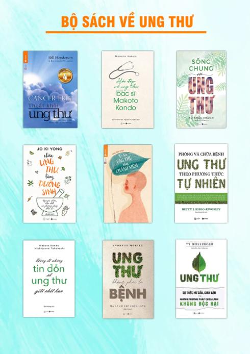 9 cuốn sách phải đọc để hiểu hơn về ung thư