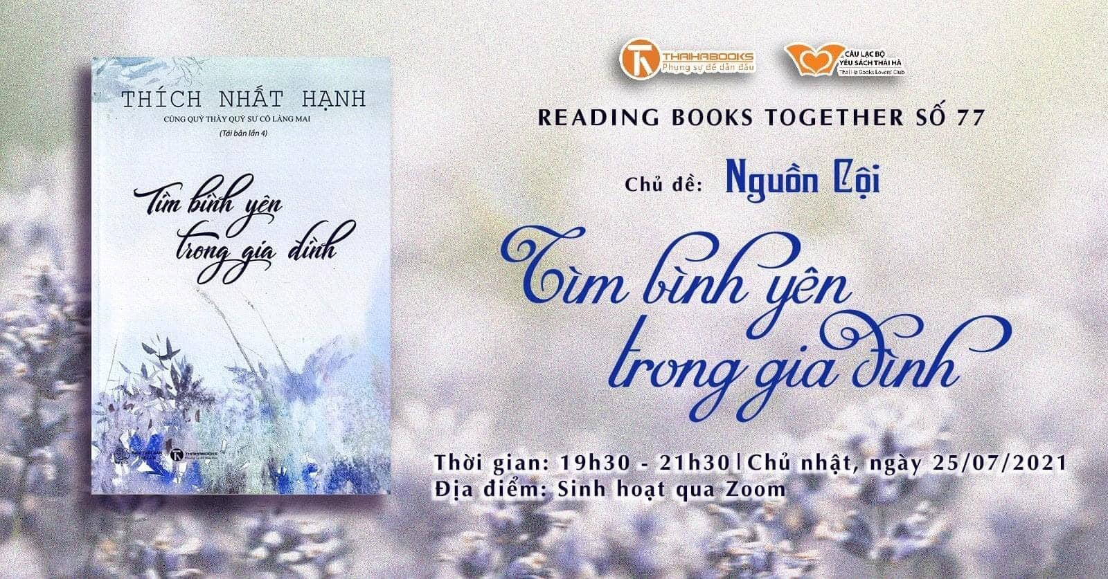 Reading books together số 77: Nguồn cội – Tìm bình yên trong gia đình