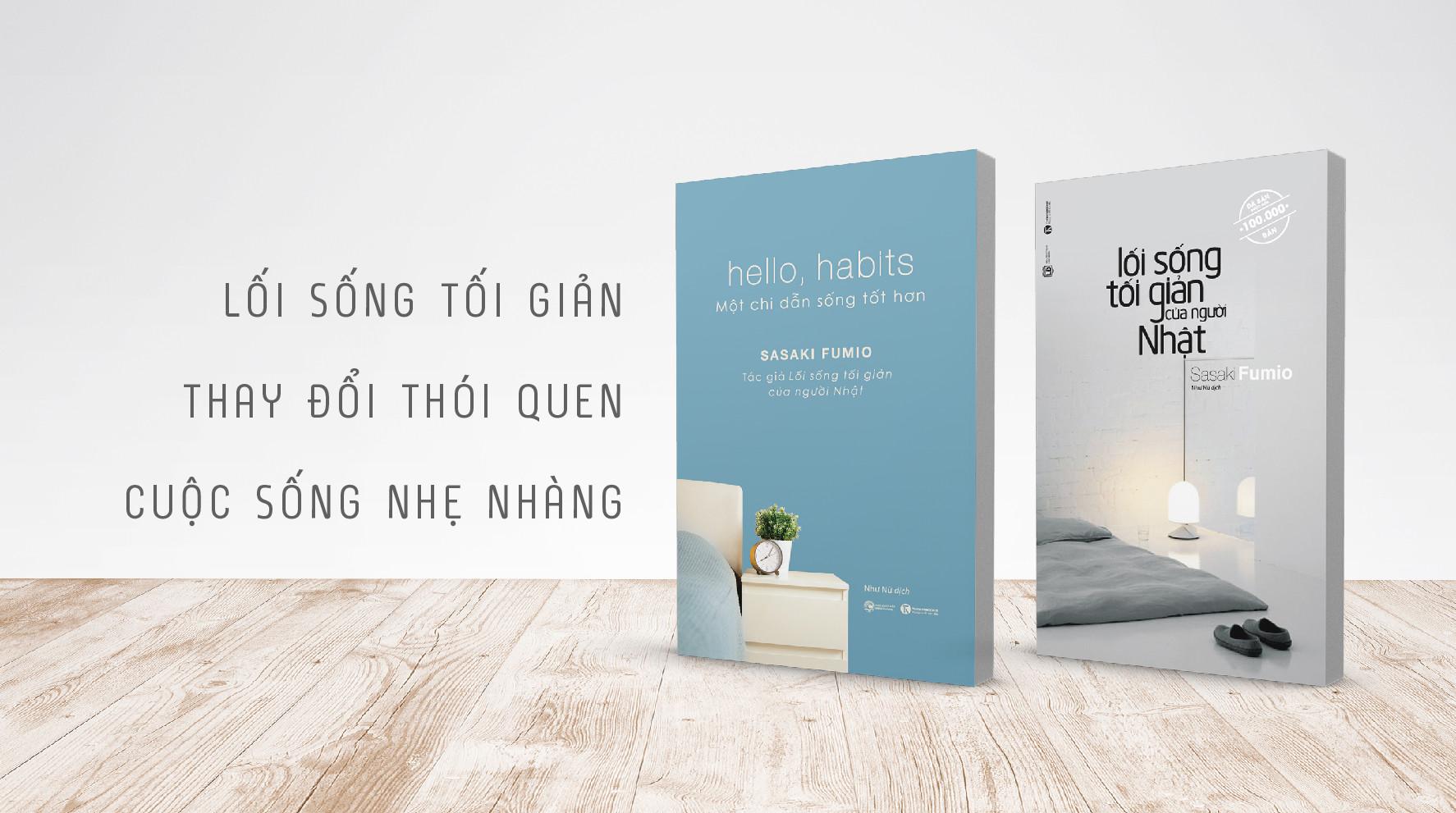 Bộ Hello Habits + Lối Sống Tối Giản 851x475