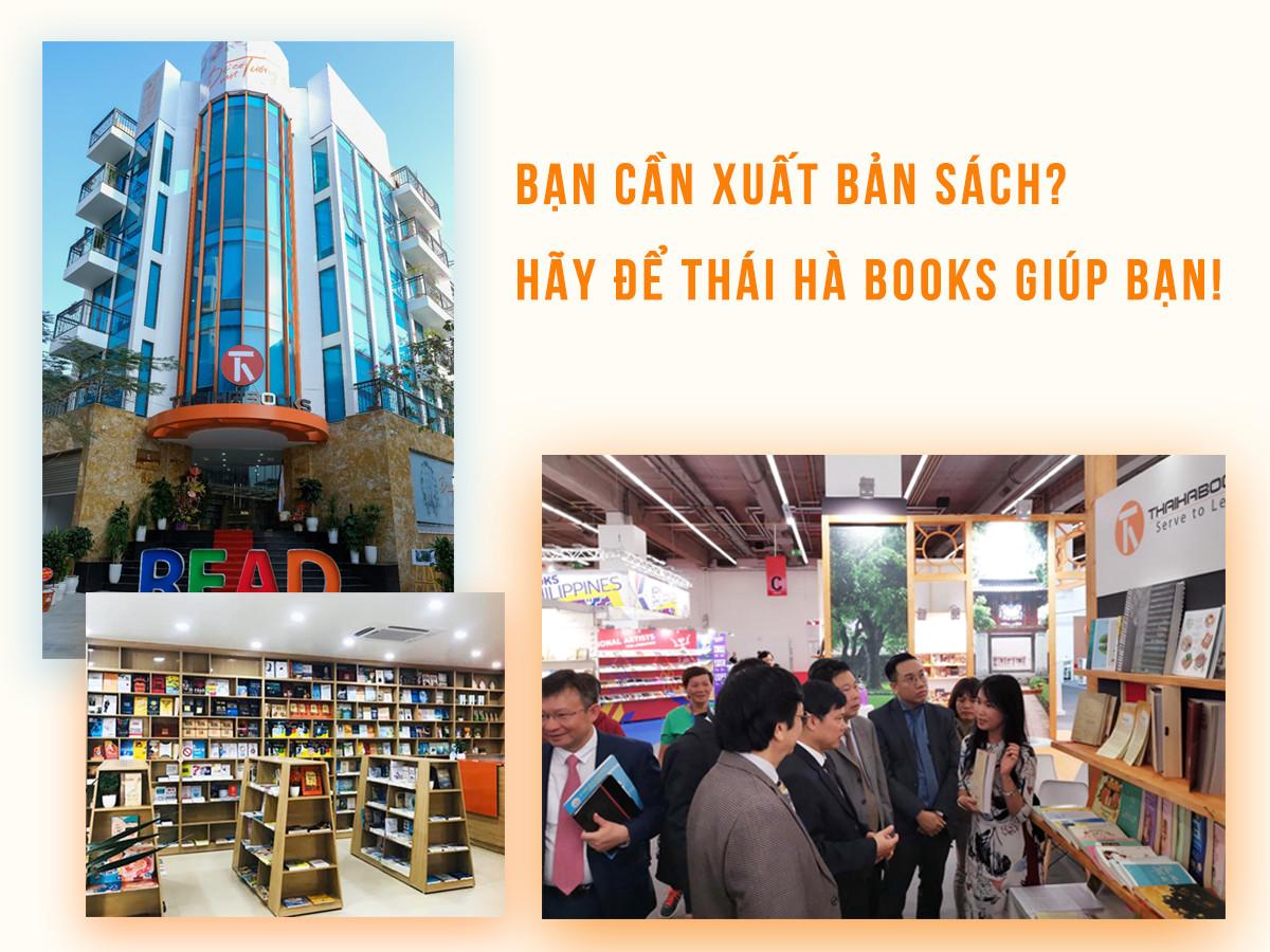 Thái Hà Books cung cấp dịch vụ xuất bản sách cho cá nhân và tổ chức