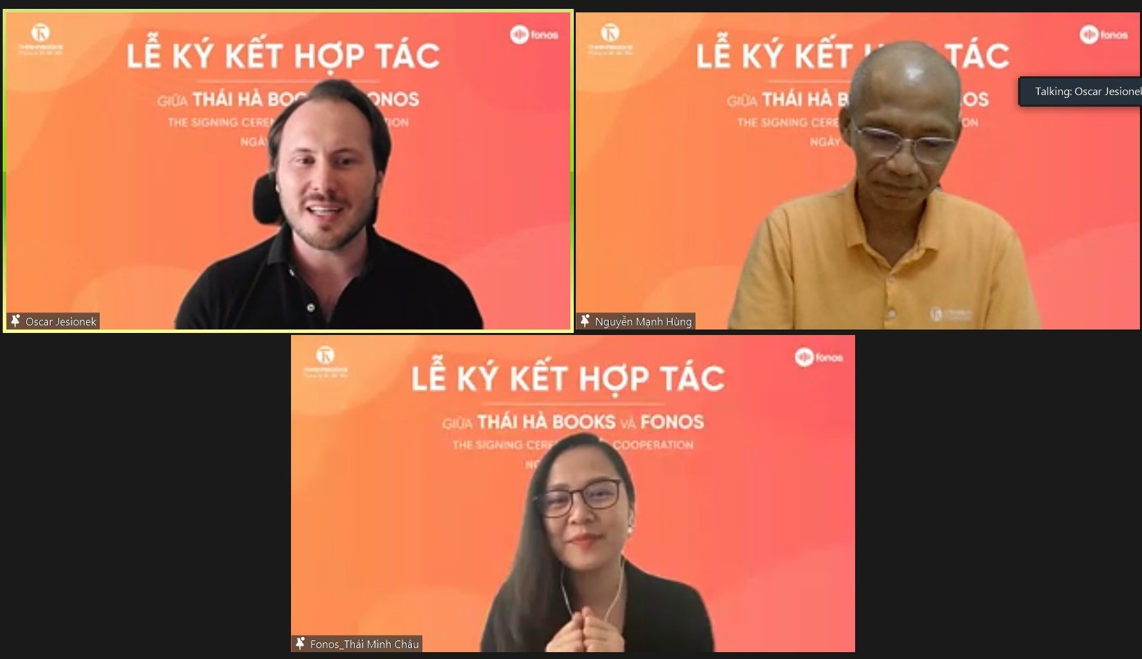 Le Ky Ket Hop Tac Thaihabooks Va Fonos